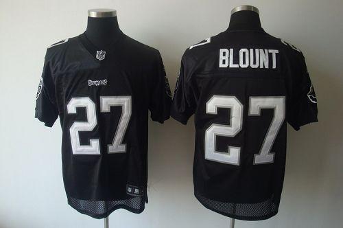 Buccaneers #27 LeGarrette Blount Black Shadow Stitched NFL Jersey