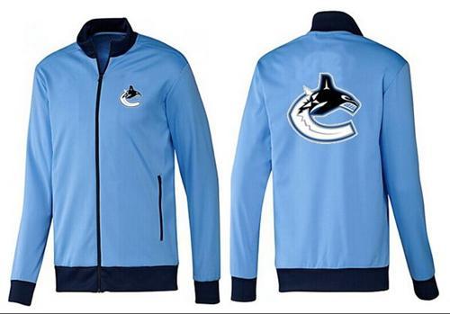 NHL Vancouver Canucks Zip Jackets Light Blue