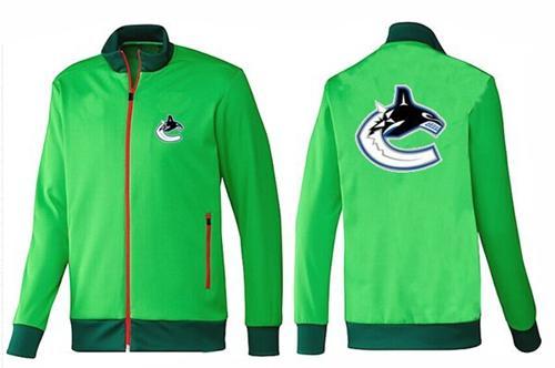 NHL Vancouver Canucks Zip Jackets Green-1