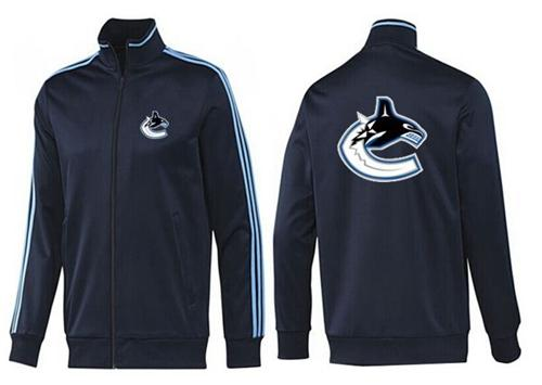 NHL Vancouver Canucks Zip Jackets Dark Blue