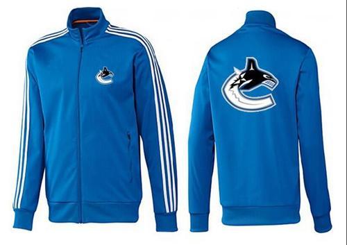 NHL Vancouver Canucks Zip Jackets Blue-2