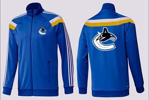 NHL Vancouver Canucks Zip Jackets Blue-3
