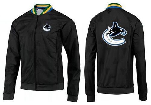 NHL Vancouver Canucks Zip Jackets Black-3