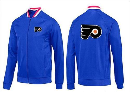 NHL Philadelphia Flyers Zip Jackets Blue-1