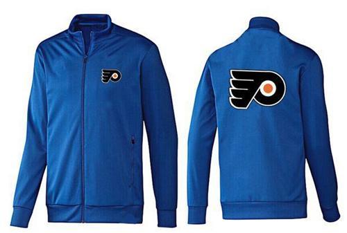 NHL Philadelphia Flyers Zip Jackets Blue-2