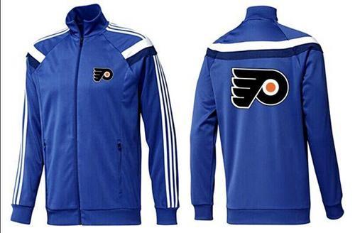 NHL Philadelphia Flyers Zip Jackets Blue-3