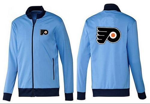 NHL Philadelphia Flyers Zip Jackets Light Blue