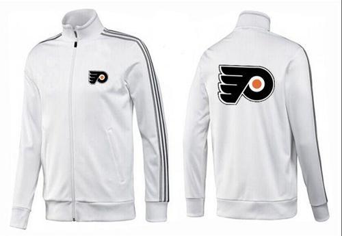 NHL Philadelphia Flyers Zip Jackets White-1