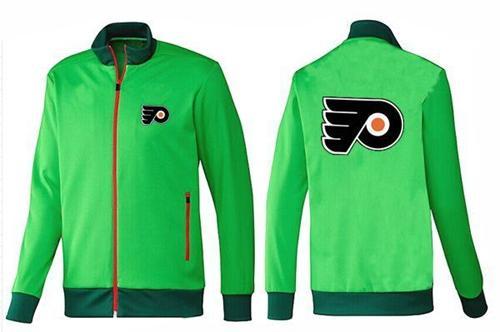 NHL Philadelphia Flyers Zip Jackets Green