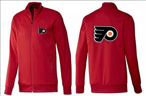 NHL Philadelphia Flyers Zip Jackets Red