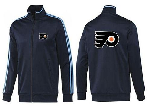 NHL Philadelphia Flyers Zip Jackets Dark Blue