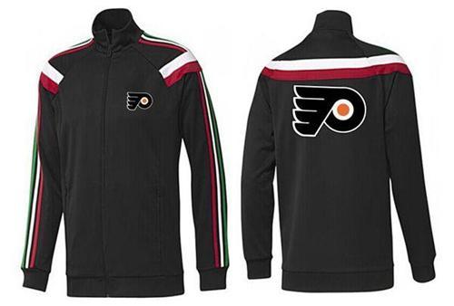 NHL Philadelphia Flyers Zip Jackets Black-1