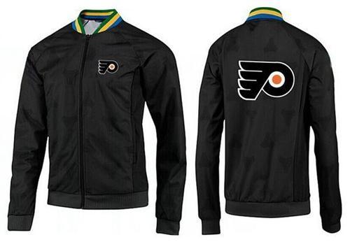 NHL Philadelphia Flyers Zip Jackets Black-2