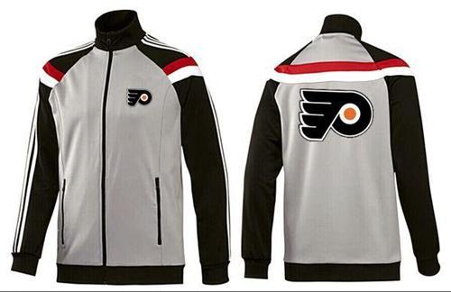 NHL Philadelphia Flyers Zip Jackets Grey