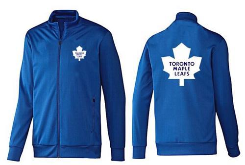 NHL Toronto Maple Leafs Zip Jackets Blue-2