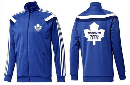 NHL Toronto Maple Leafs Zip Jackets Blue-5