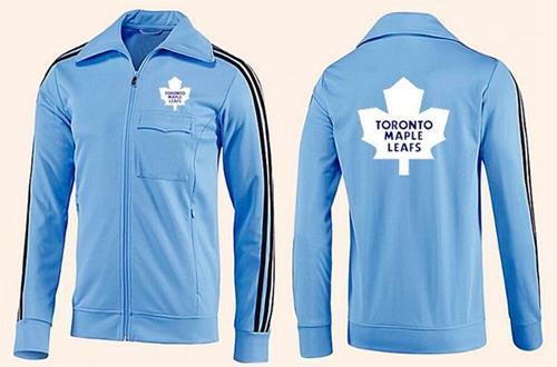 NHL Toronto Maple Leafs Zip Jackets Light Blue