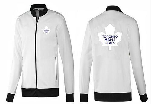 NHL Toronto Maple Leafs Zip Jackets White-1