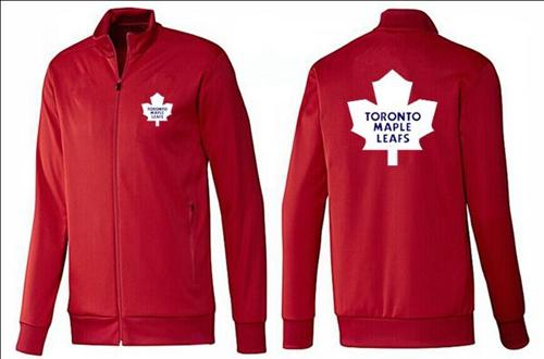 NHL Toronto Maple Leafs Zip Jackets Red
