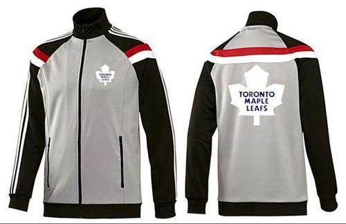 NHL Toronto Maple Leafs Zip Jackets Grey