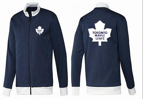 NHL Toronto Maple Leafs Zip Jackets Dark Blue