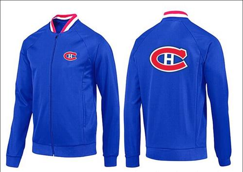 NHL Montreal Canadiens Zip Jackets Blue-1