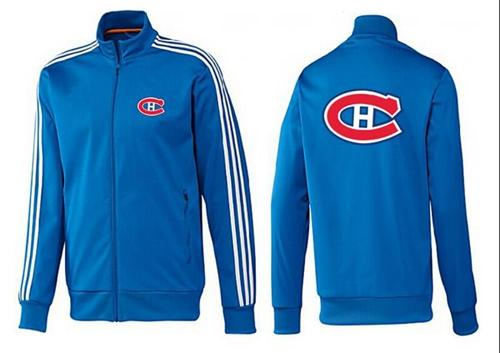 NHL Montreal Canadiens Zip Jackets Blue-2