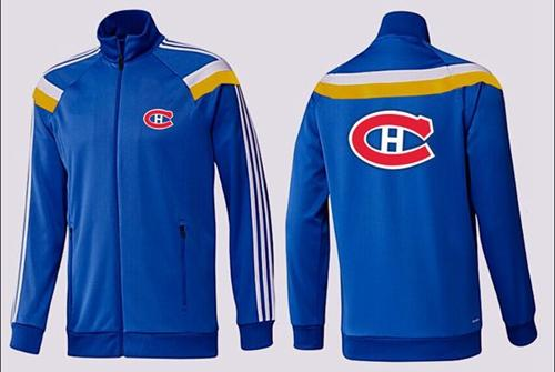 NHL Montreal Canadiens Zip Jackets Blue-3