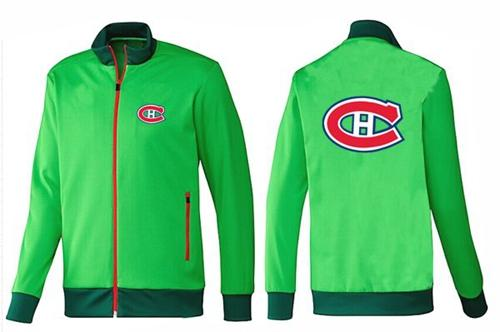NHL Montreal Canadiens Zip Jackets Green-1