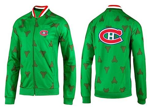 NHL Montreal Canadiens Zip Jackets Green-2