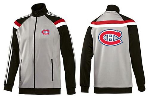 NHL Montreal Canadiens Zip Jackets Grey