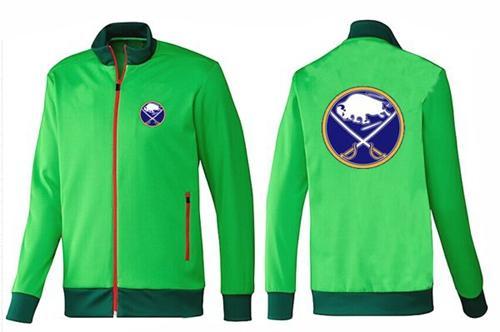 NHL Buffalo Sabres Zip Jackets Green