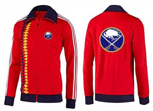 NHL Buffalo Sabres Zip Jackets Orange