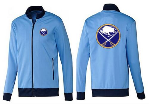 NHL Buffalo Sabres Zip Jackets Light Blue
