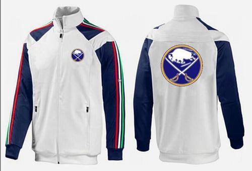 NHL Buffalo Sabres Zip Jackets White-1