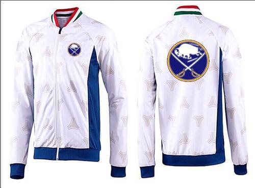 NHL Buffalo Sabres Zip Jackets White-2