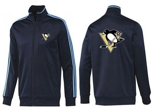 NHL Pittsburgh Penguins Zip Jackets Dark Blue