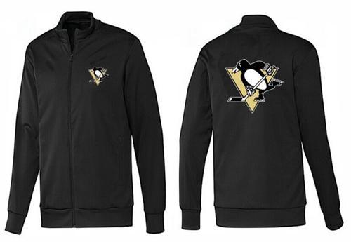 NHL Pittsburgh Penguins Zip Jackets Black-1