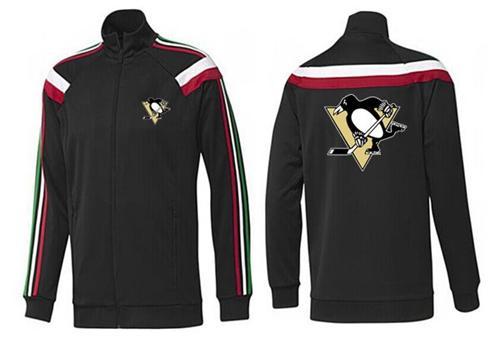 NHL Pittsburgh Penguins Zip Jackets Black-2