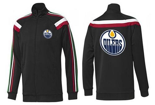 NHL Edmonton Oilers Zip Jackets Black-2