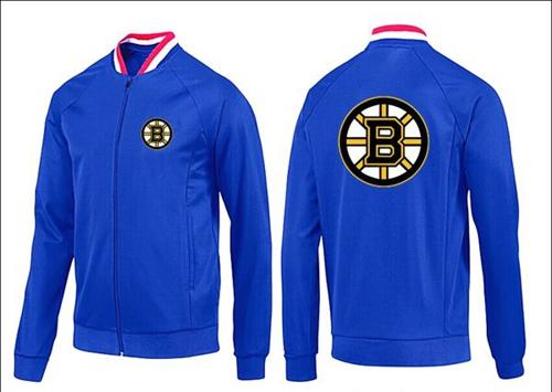 NHL Boston Bruins Zip Jackets Blue-1