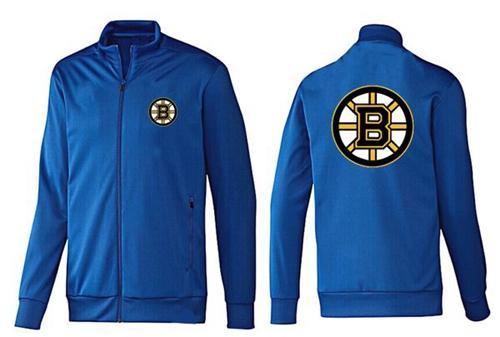 NHL Boston Bruins Zip Jackets Blue-2
