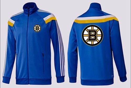 NHL Boston Bruins Zip Jackets Blue-3