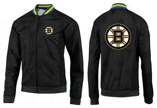 NHL Boston Bruins Zip Jackets Black-3