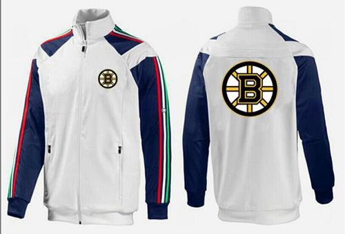 NHL Boston Bruins Zip Jackets White