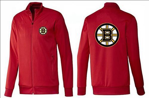 NHL Boston Bruins Zip Jackets Red
