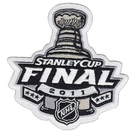 Stitched 2011 NHL Stanley Cup Final Logo Jersey Patch Boston Bruins vs Vancouver Canucks
