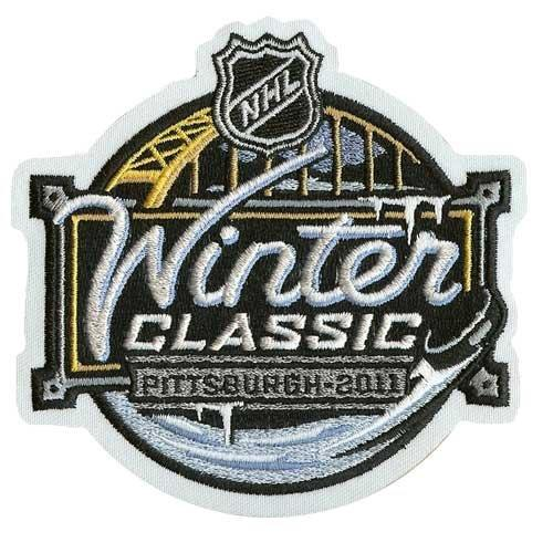Stitched 2011 NHL Winter Classic Game Logo Patch