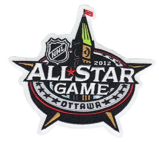 Stitched 2012 NHL All-Star Game Jersey Patch Ottawa Senators