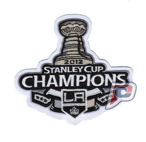 Stitched 2012 NHL Stanley Cup Final Champions Los Angeles Kings Jersey Patch